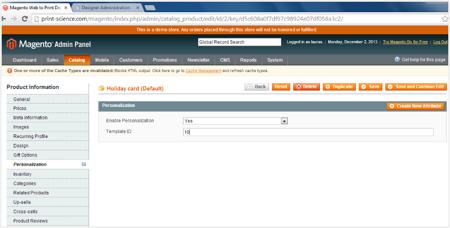 Print Science Designer HTML5 Design Online